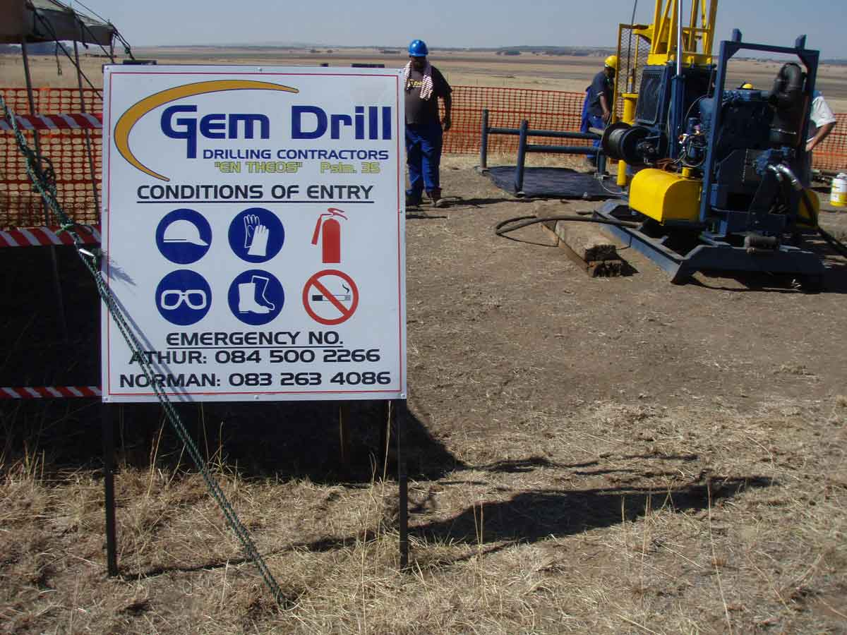 Gem Drill Safety