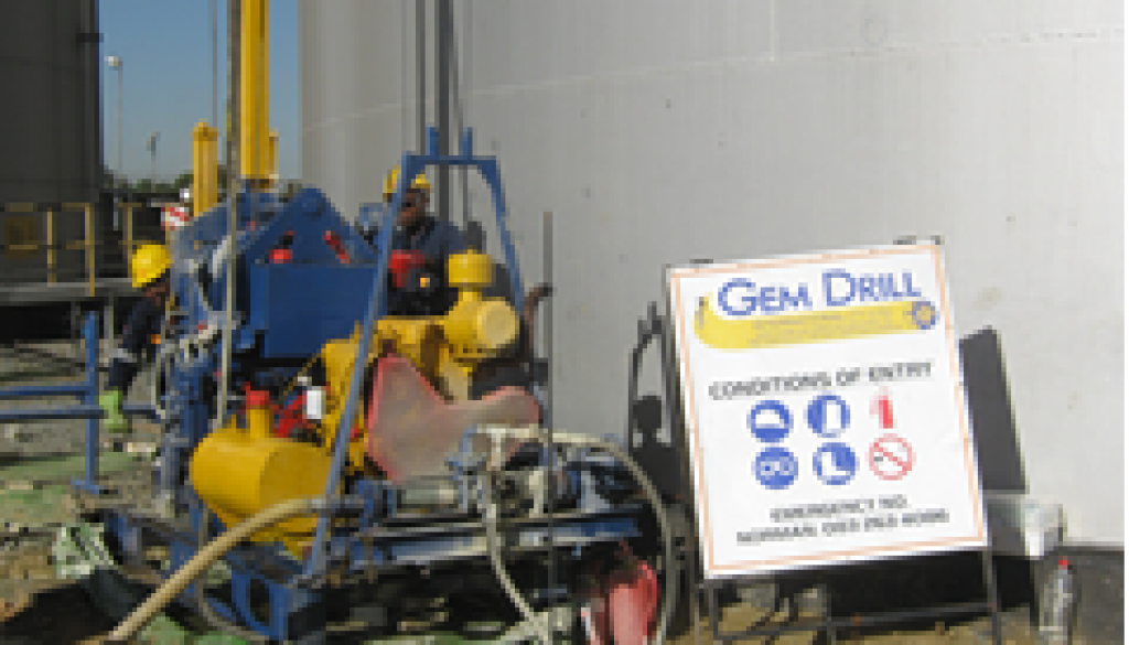 Shell petrol depot Geotechnical drilling2
